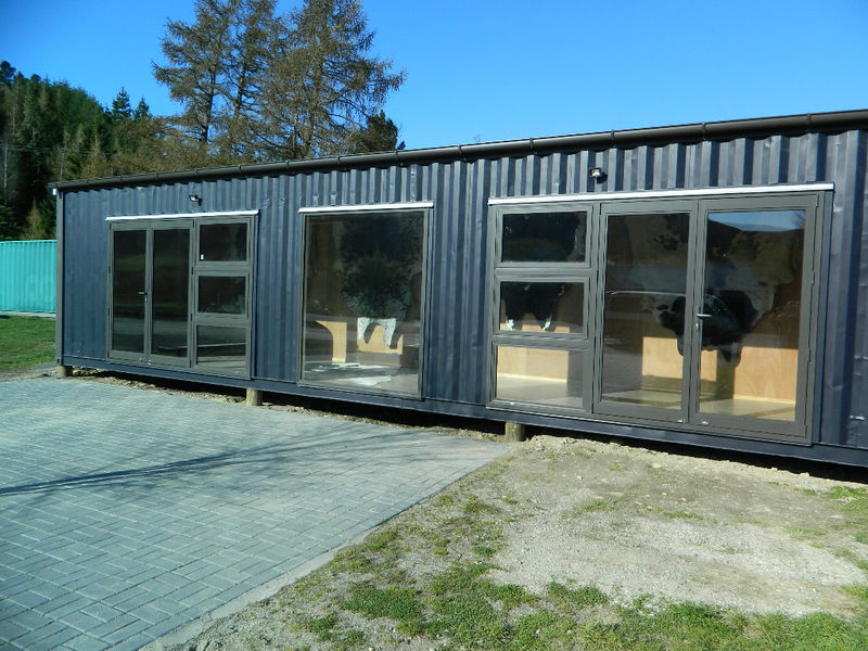 Garston Display Shop Taylor Made Container Homes Ltd