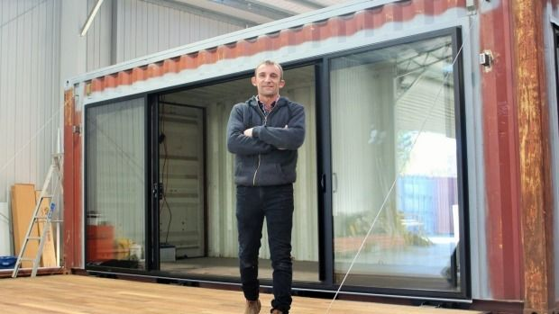 The man behind taylor made container homes for Taylor made homes